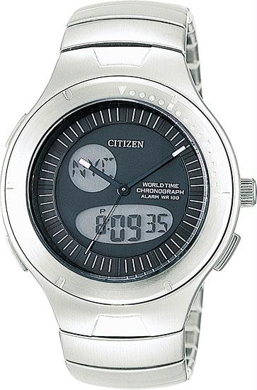 Citizen JU0010-55E Men's Hide-Away Watch