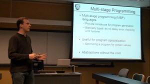 Multi-stage Programming