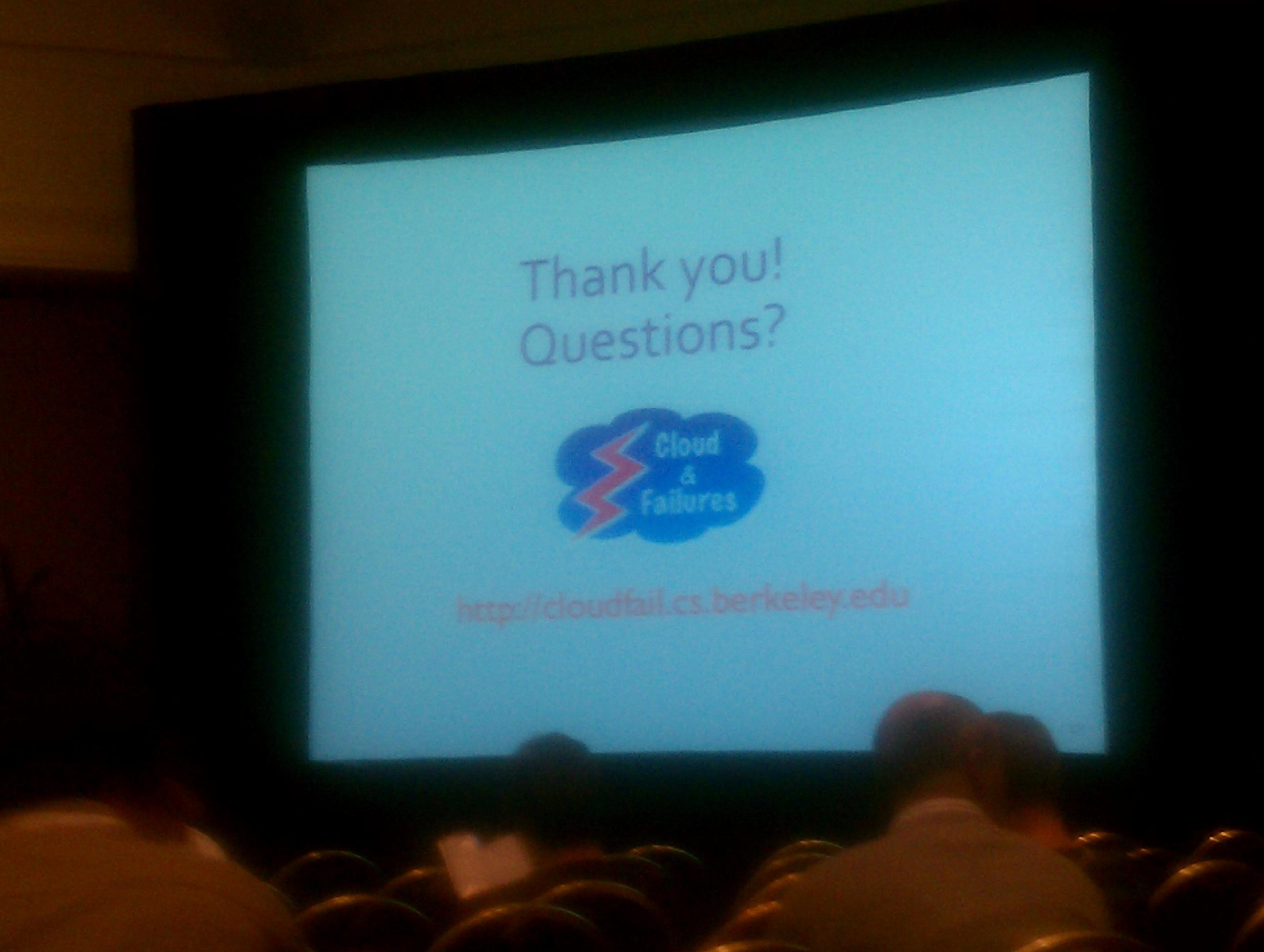 PREFAIL Talk, finishing slide.