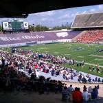 Rice vs. UTSA football game. I've never seen the stadium this full.