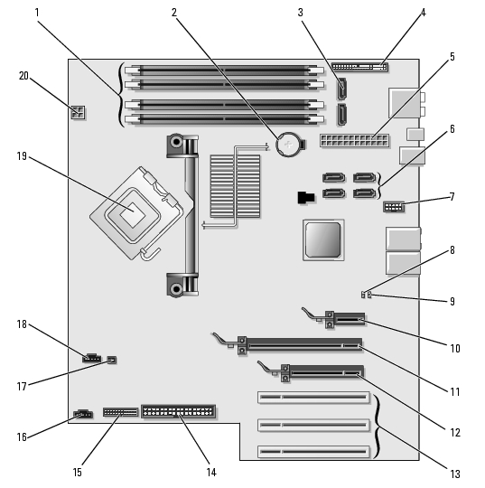HP Desktop  puter Motherboard Repair as well Reuse Dell Vostro 200 Case further Dell Vostro Motherboard Schematic Diagram likewise Blue And Pink Nike Running Shoes further Diagram Of Packing. on dell 420 motherboard diagram