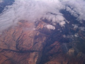 Grand Canyon, on the way to Arizona.